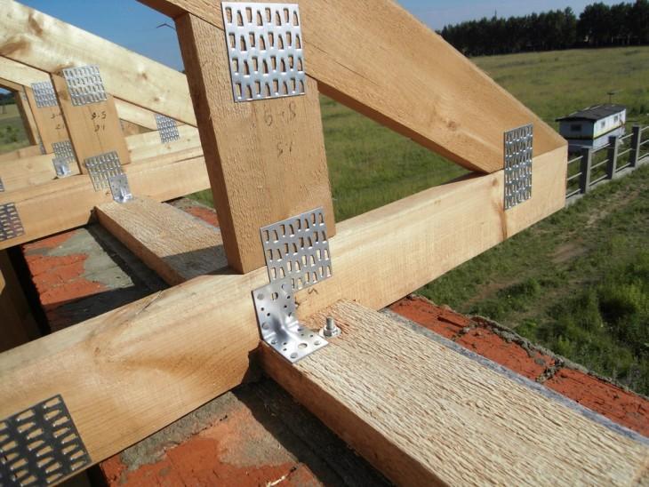Строительство деревянной крыши своими руками 49