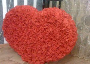 Сделать сердце своими руками свадебное 637
